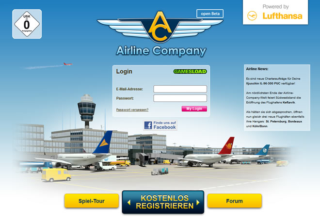 airline spiele